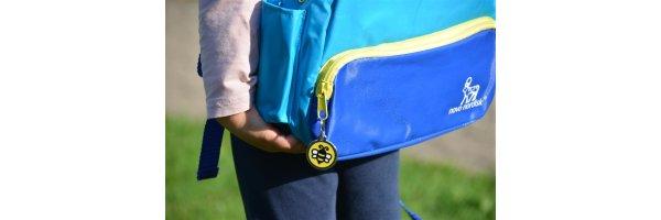 Schultaschen-Anhänger mit Gravur