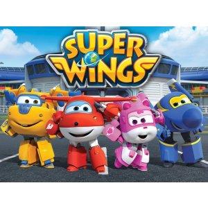 Die Hauptcharaktere der Super Wings (Jett,...