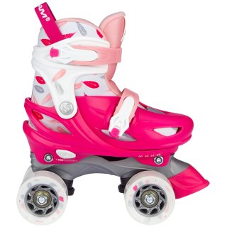 Nijdam Mädchen Roller Skates Adjustable Feather Drops...