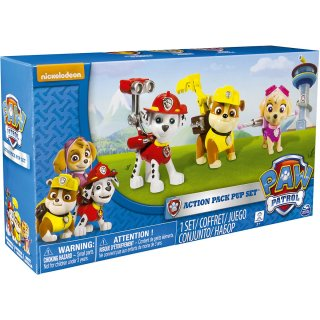 Paw Patrol Action Pack 1 Pup Figuren Marshall Rubble Skye