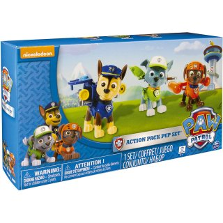Paw Patrol Action Pack 2 Pup Figuren Chase Rocky Zuma