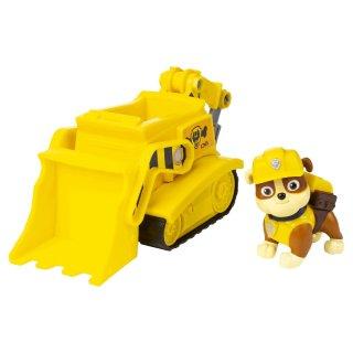 Paw Patrol Basic Vehicle Fahrzeug Rubble Bulldozer