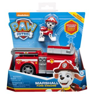 Paw Patrol Basic Vehicle Fahrzeug Marshall Fire Engine