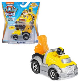 Paw Patrol True Metall Fahrzeug RUBBLE Mighty 20120843