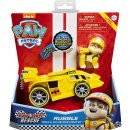 PAW PATROL RACE RESCUE RACE & GO RUBBLE Deluxe Vehicle