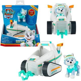 Paw Patrol Basic Vehicle Fahrzeug Everest Snow Plow