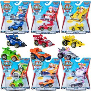 Paw Patrol Race Rescue True Metall Fahrzeug RUBBLE