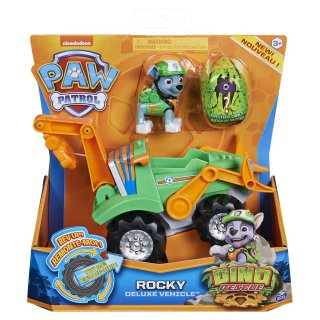PAW Patrol Dino Rescue Rocky Deluxe Vehicle Rev Up Fahrzeug