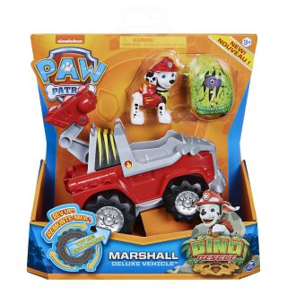 PAW Patrol Dino Rescue Marshall Deluxe Vehicle Rev Up...