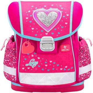 Belmil Schulranzen CLASSY Heart rosa/blau