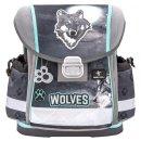 Belmil Schulranzen CLASSY wolf grau/blau
