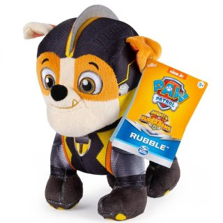 Paw Patrol Mighty Pups Rubble Plüsch Super Paws...