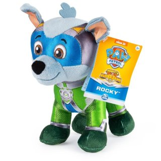 Paw Patrol Mighty Pups Rocky Plüsch Super Paws...