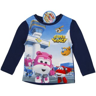 SUPER WINGS Langarmshirt blau