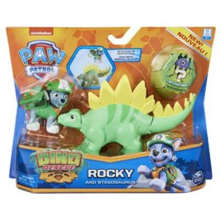 PAW PATROL DINO RESCUE ACTION PACK PUP ROCKY