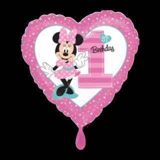 Ballon - Minnie 1st Birthday