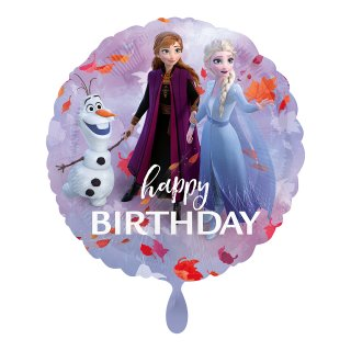 Ballon - Frozen 2 Happy Birthday
