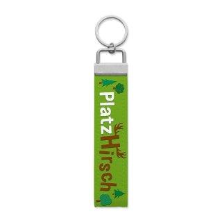 Sheepworld Schlüsselband mit Spruch Platzhirsch Schlüsselanhänger