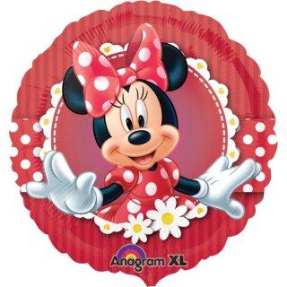 Ballon - Minnie Mouse - Folienballon - Verrückt nach Minnie