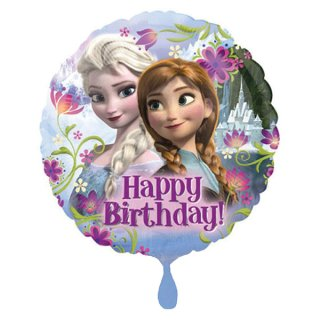 Ballon - Disney Frozen - Folienballon - Happy Birthday