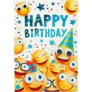 Kinder-Glückwunschkarte Geburtstag - Motiv54