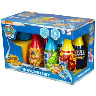 Paw Patrol Mighty Pups Bowlingset