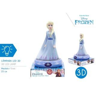 Disney Frozen - 3D Nachtlampe Elsa