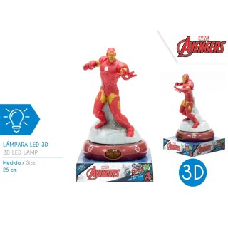 Marvel Avengers - 3D Nachtlampe Iron Man