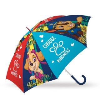 PAW PATROL Regenschirm Chase Skye Marshall blau Kinderschirm Stockschirm