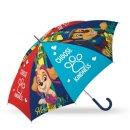 PAW PATROL Regenschirm Chase Skye Marshall blau...