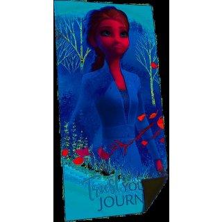 Disney Frozen Elsa Strandtuch Badetuch 75 x 150 cm Baumwolle