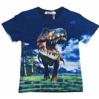 Squared & Cubed Jungen T-Shirt T-Rex Dino