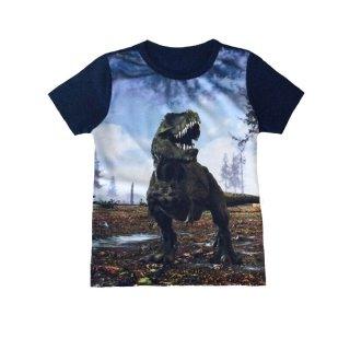 Squared & Cubed Jungen T-Shirt Dino blau