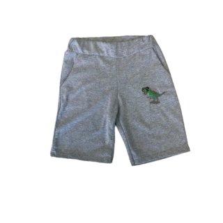 Jungen Dino Shorts grau kurze Hose