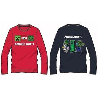 Minecraft Langarmshirt Sweatshirt