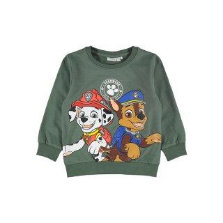 Name It Paw Patrol Sweater grün