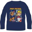 PAW PATROL Langarmshirt blau Heroes work together