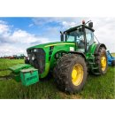 Traktor Decke Fleece Kuscheldecke 100 x 140 cm John Deere...