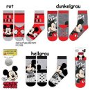Disney Mickey Kinder Stopper-Socken ABS Socken Kuschelsocken
