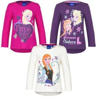 Disney Frozen Langarm-Shirt Sweatshirt Anna Elsa Shirt Langarm