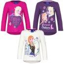 Disney Frozen Langarm-Shirt Sweatshirt Anna Elsa Shirt...
