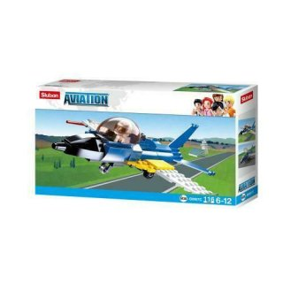 Sluban Aviation Übungsjet B0667 Bausteine 116 Teile Lego...
