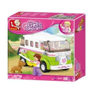 Sluban Girl´s Dream Campingbus B0523 Bausteine 158 Teile...