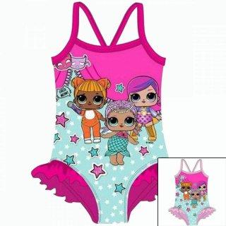 LOL Surprise Mädchen Badeanzug L.O.L. Gr 98 104 110 116 128