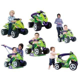 Injusa Kinderquad Goliath 6-in-1 Rutscher Laufauto Quad...