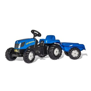 Rolly Toys Trettraktor Traktor RollyKid New Holland T7040...