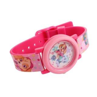 Paw Patrol Skye Armbanduhr rosa analog Kinderuhr Spin Master Kinderarmbanduhr