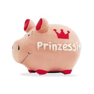 KCG Best of Sparschwein - Prinzessin - Keramik handbemalt Spardose