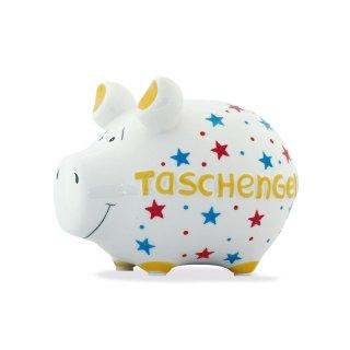 KCG Best of Sparschwein - Taschengeld - Keramik handbemalt Spardose