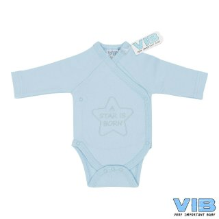 VIB® Baby Body Wickelbody Langarm A Star is born...